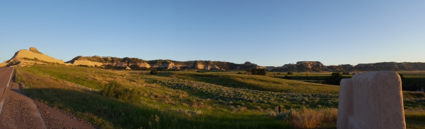 Panorama of Scott's Bluff